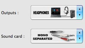 Virtual DJ mono splitter settings