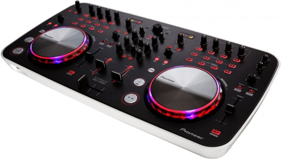 The Pioneer DDJ-ERGO-V brings sharp consumer styling to the company's DJ controller range.