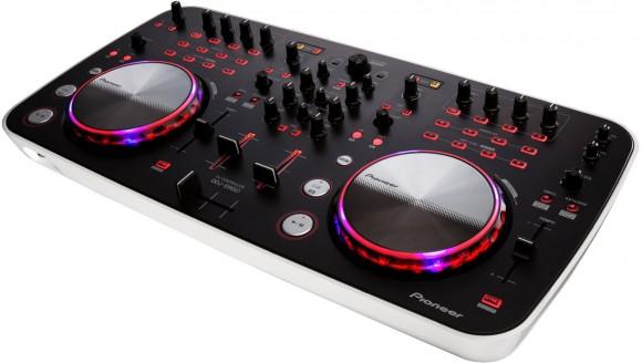 The Pioneer DDJ-ERGO-V brings sharp consumer styling to the company's DJ controller range.