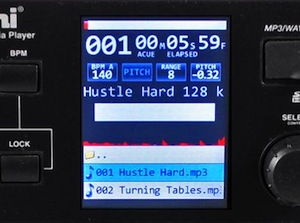 Gemini CDJ-700 touchscreen
