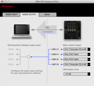 DJM-850 Setting Utility