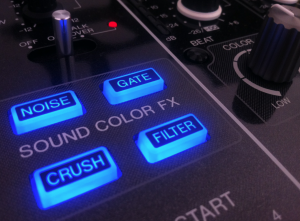 The Sound Color FX section
