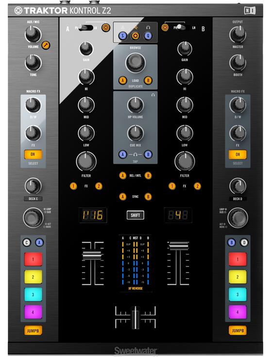 Native Instruments Traktor Kontrol Z2 Mixer Review - Digital DJ Tips