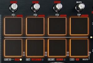 Numark Mixtrack Pro 2 Pads
