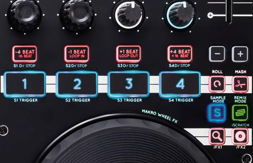 Mode buttons