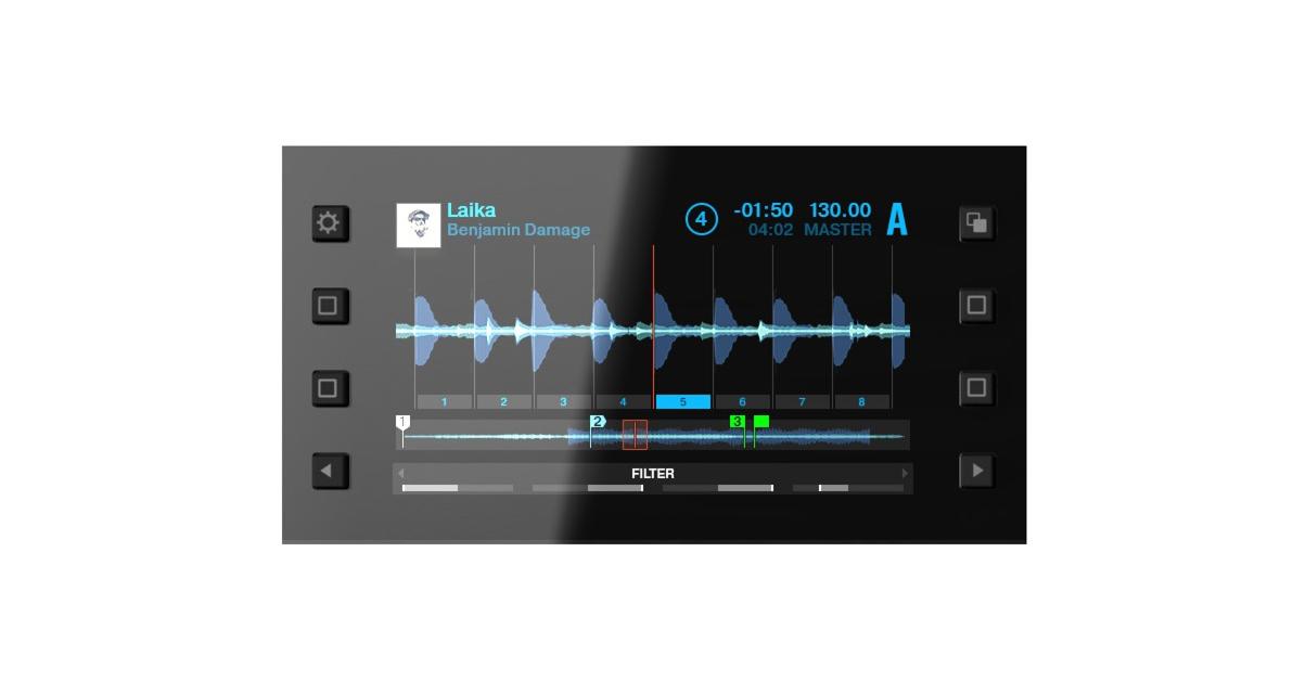 S8 Display - Waveform