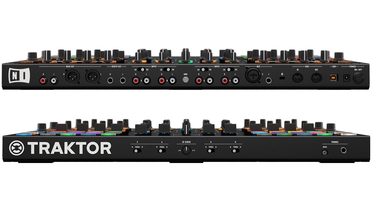 Traktor S8 Front and Back