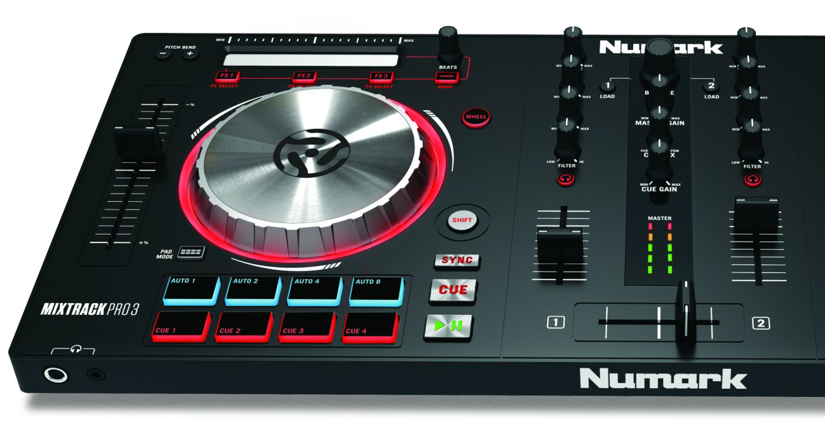 Mixtrack Pro 3 Left Side View