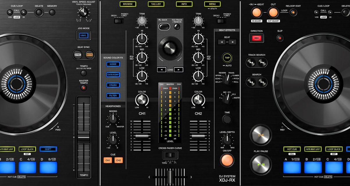 XDJ-RX Mixer