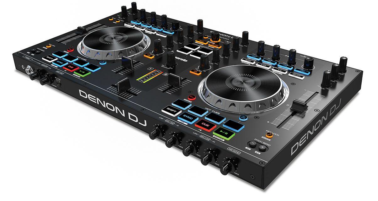 Denon DJ MC4000 Angle