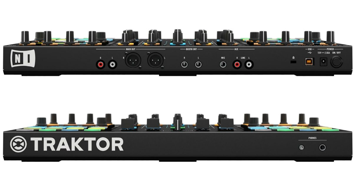 Traktor S5 Front and Rear