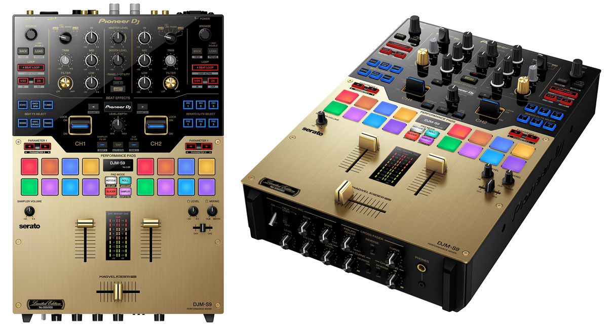 pioneer djm s9 mixer review digital dj tips. Black Bedroom Furniture Sets. Home Design Ideas
