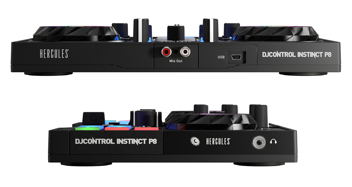 Hercules DJControl Instinct P8 Review - Digital DJ Tips