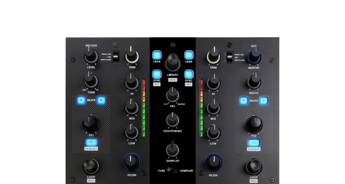 Mixars Top Panel