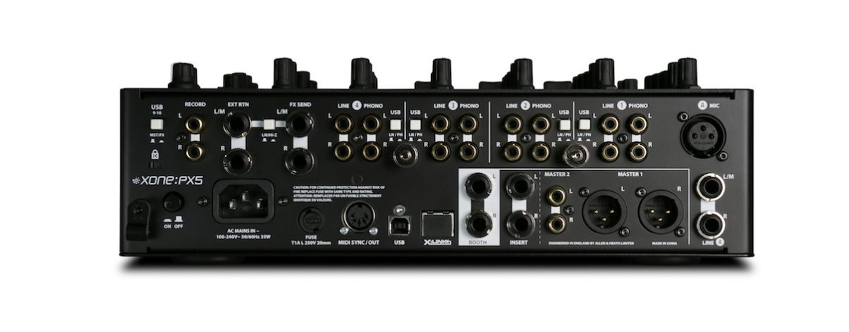 Plenty of I/Os including an FX loop give lots of flexibility when setting up.