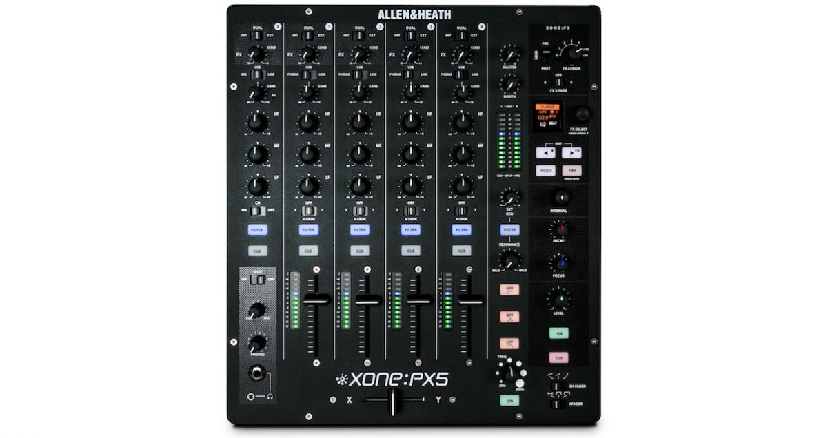 the mixer's layout will be instantly familiar to DJs used to club installation mixers.