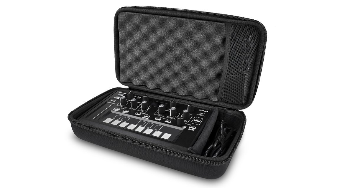 The Toraiz AS-1 is meant for both studio and stage use.
