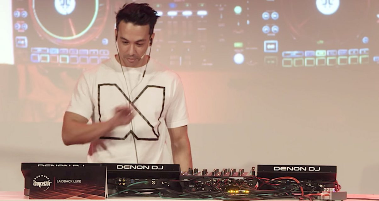 Laidback Luke professed to me that he was amazed at what he'd been missing out on in the software/controller world, things that the Denon gear brings to the pro booth. He's one of the big-name DJs who's already put his name firmly behind the unit, along with Tïesto, Oakenfold and others.