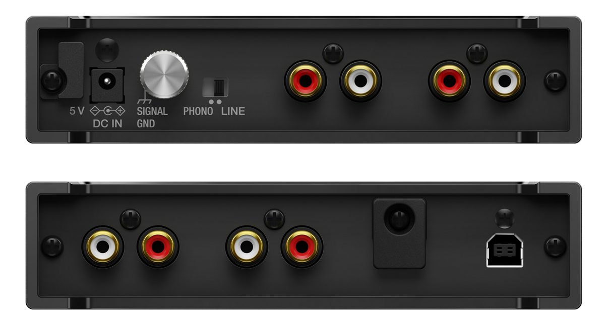 Interface 2 Front and Rear